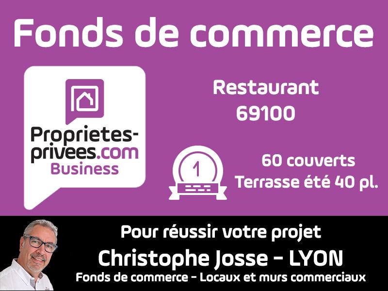 69100 Restaurant Villeurbanne 60 couverts