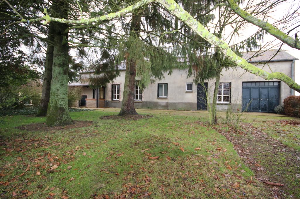 45480 Maison de 63.80 m2 habitable avec garage et grenier sur 566 m2 de terrain clos