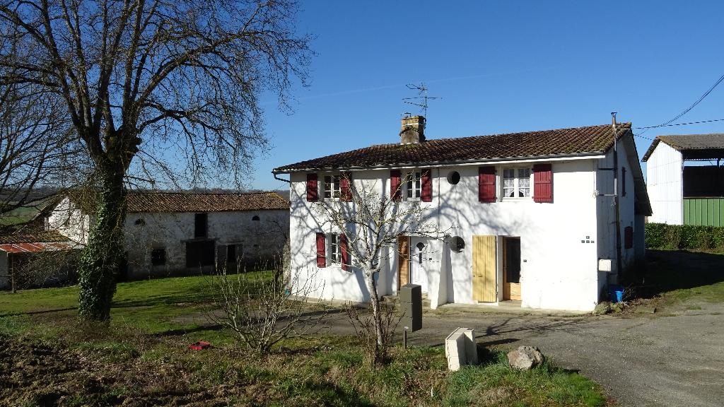 Landes 40320, proche Eugénie-les-Bains, Ferme 1ha