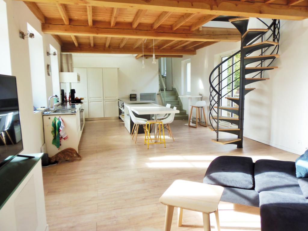 Maison de charme rénovée  centre de Condette 6 pièce(s) 160 m2