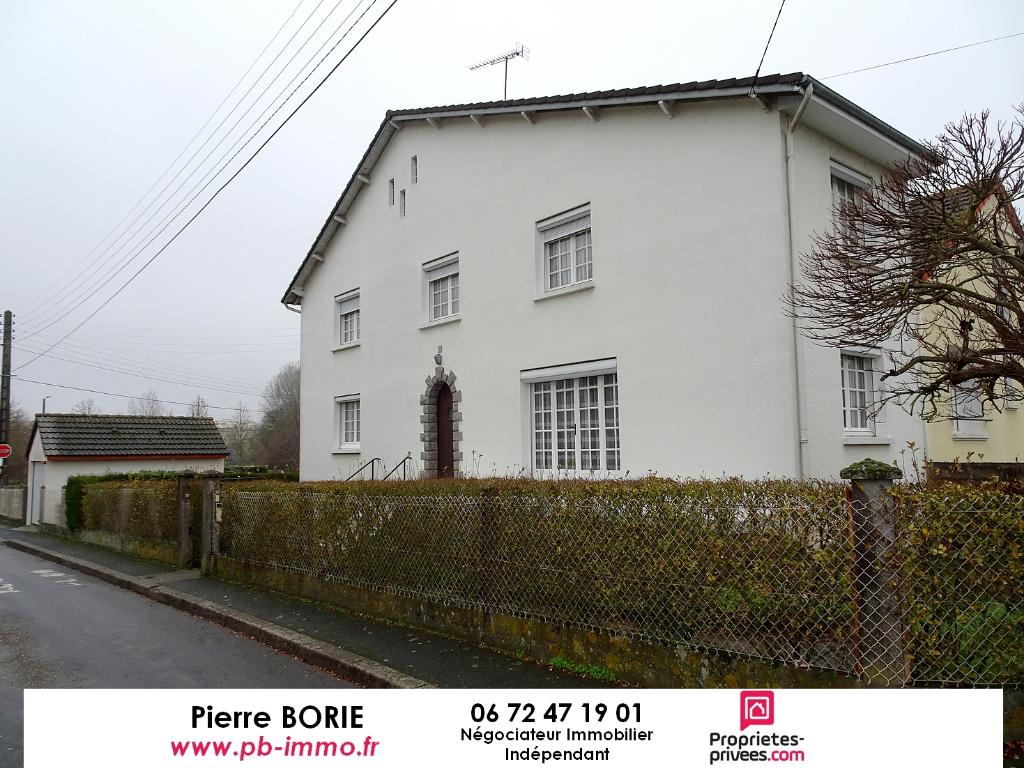Exclu : Maison Déols 4 pièces, sous-sol, garages, jardin