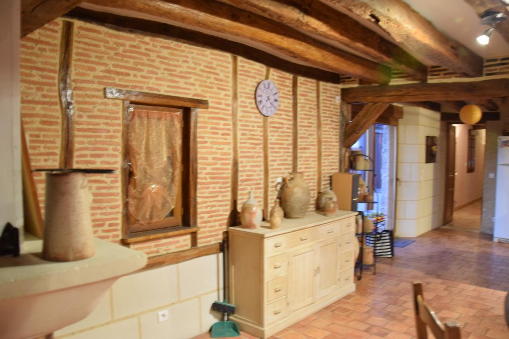 Huisseau en Beauce, maison ancienne