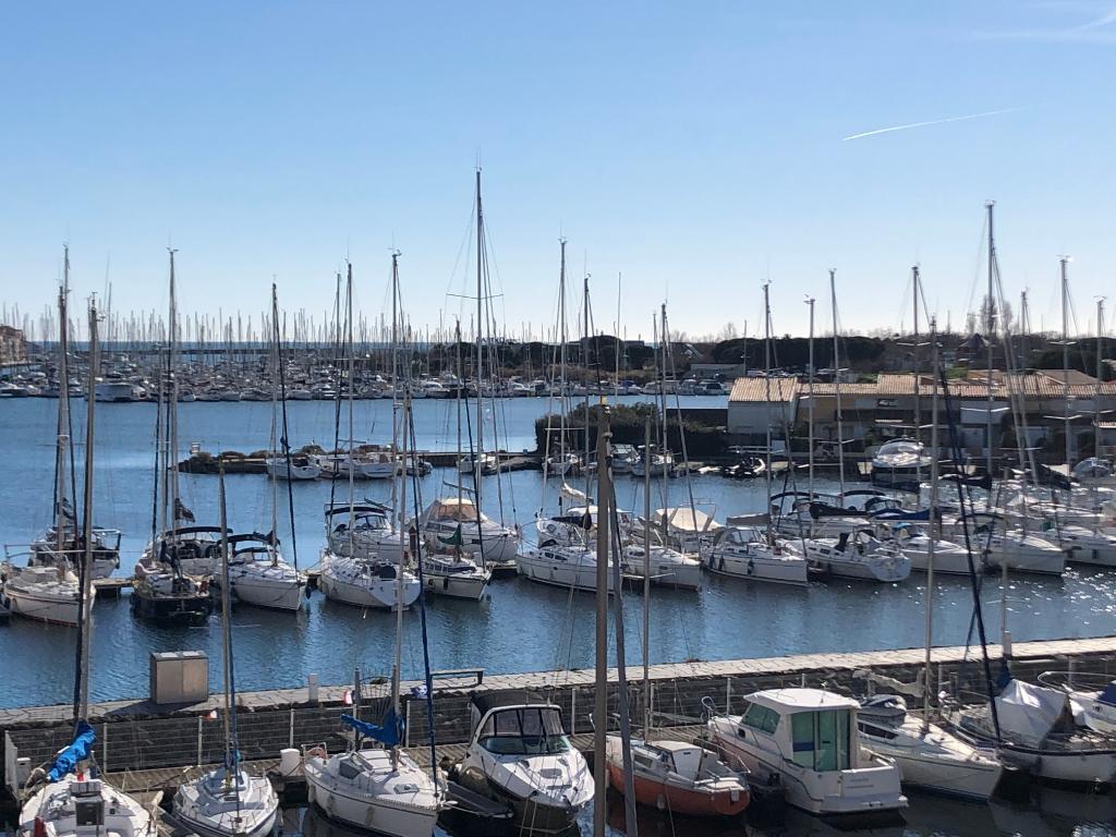Port Le Cap D Agde 3 pièces en duplex, 46.35 m2 avec terrasse solarium