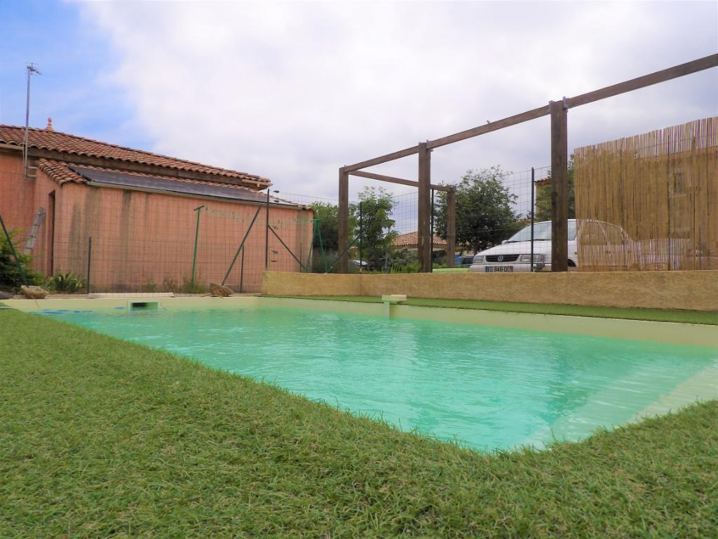 Appartement  loué -Octon avec piscine