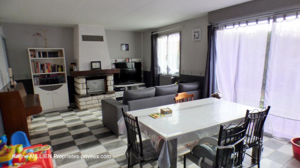 VERNOUILLET 28500 Maison de plain-pied - 2 chambres - garage - terrain - 160 000  HAI