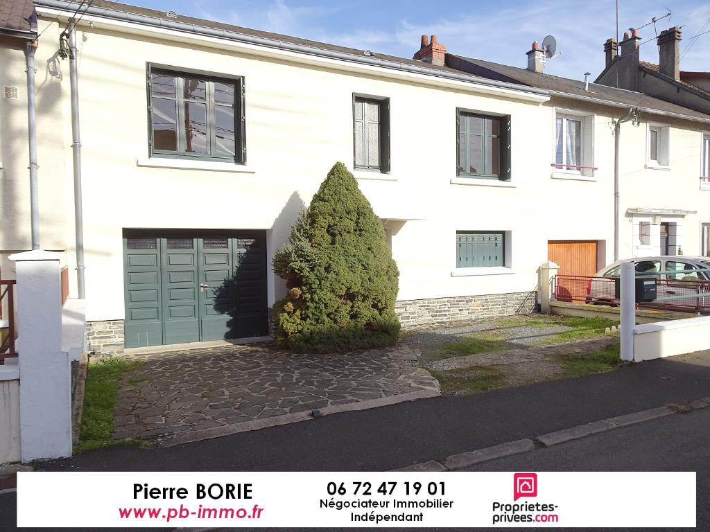 Exclu : Maison Châteauroux 4 pièces 77 m2 sur sous-sol avec jardin