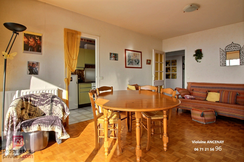 Appartement Chambery 4 pièce(s) 76 m2 avec garage