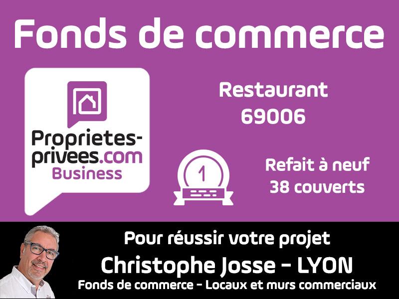 69006 Lyon Restaurant 38 couverts