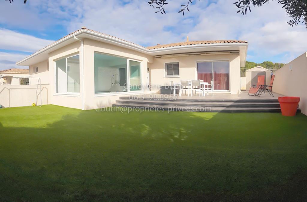 MAGNIFIQUE VILLA DE 115M² + ESPACE PISCINE COUVERT +DOUBLE GARAGE