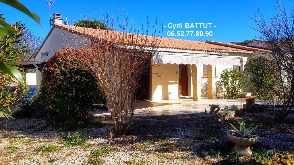 Villa Saint Hilaire De Brethmas 5 pièce(s) 100 m2