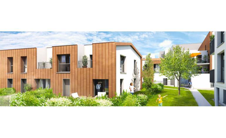 44220 COUERON, Appartement d'environ 98,03 m2, composé de 5 pièces dont 4 chambres, avec beau jardin de 56 m2