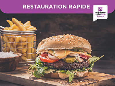GRENOBLE 38000 - Restauration rapide snack 30 COUVERTS