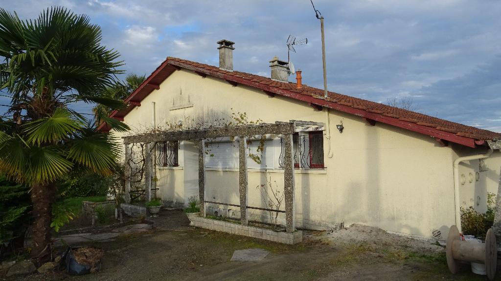Landes 40500 Saint-Sever, maison 4 pièces 71 m2