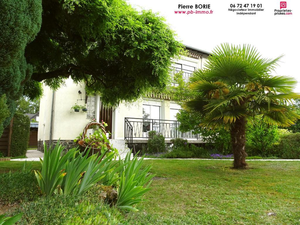Grande maison sur sous-sol,  Le Poinçonnet, 170 m2, possiblité 2 appartements