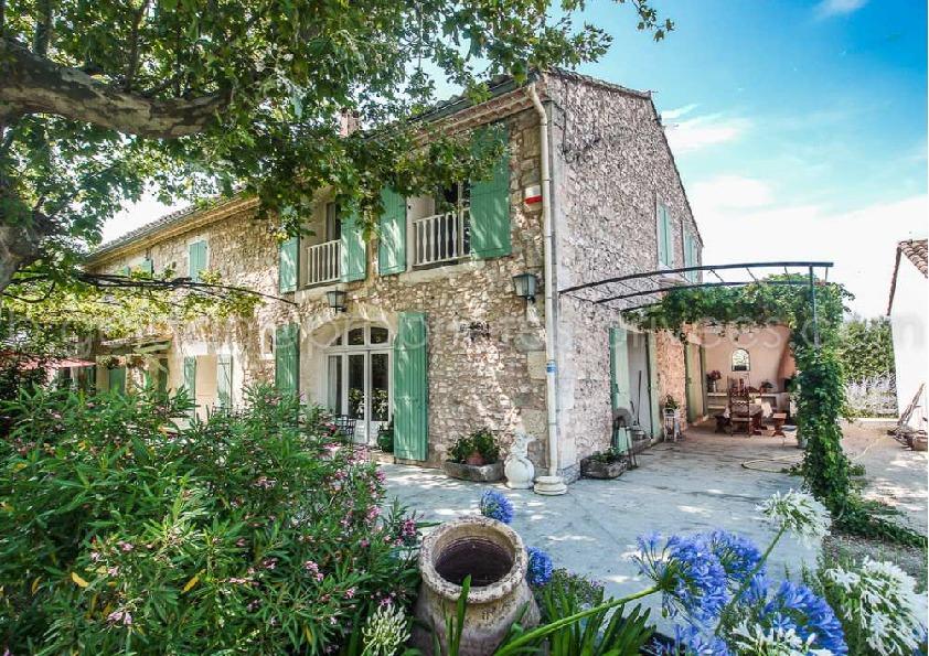 Mas en Provence - 8 chambres - Saint Remy De Provence 365m2