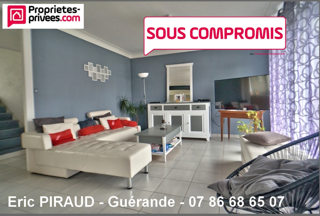Maison GUÉRANDE CENTRE , 7 pièce(s) 150 m²