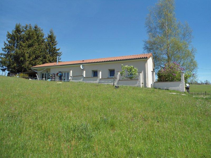 Maison T4 plein pied 90m² sur 6495 m² de terrain