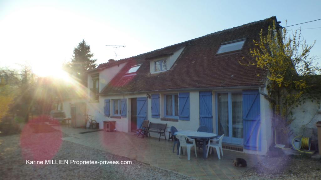 DREUX 28100 Maison individuelle - 1 étage - 2 chambres - Atelier - Terrain - 155 990  HAI