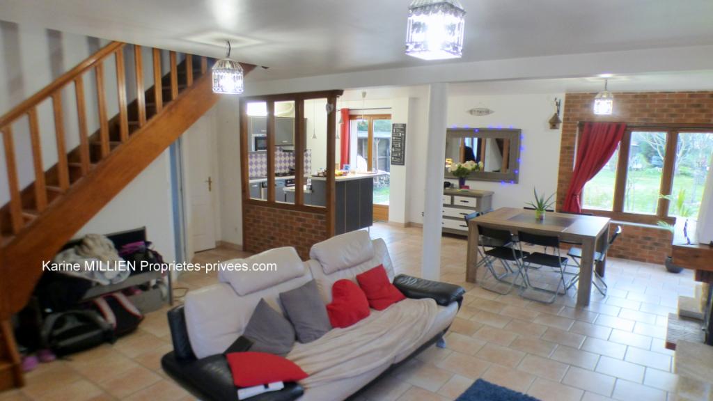 ILLIERS L EVEQUE 27770 Maison individuelle - 1 étage - 3/4 chambres - Dépendance - Terrain - 186 300  HAI