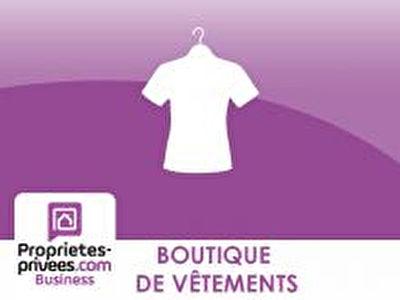 Fonds de commerce Pret a porter Paris 130 m2