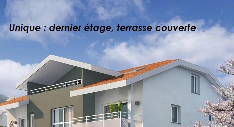 SASSENAGE (38360)  T4 109,92 m² 3ème et dernier étage