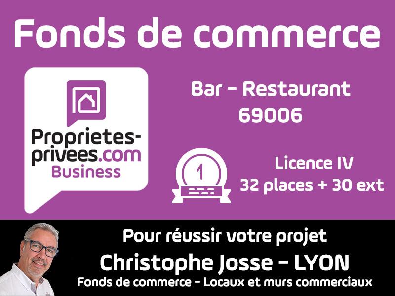 69006 Bar Restaurant Licence IV 32 couverts