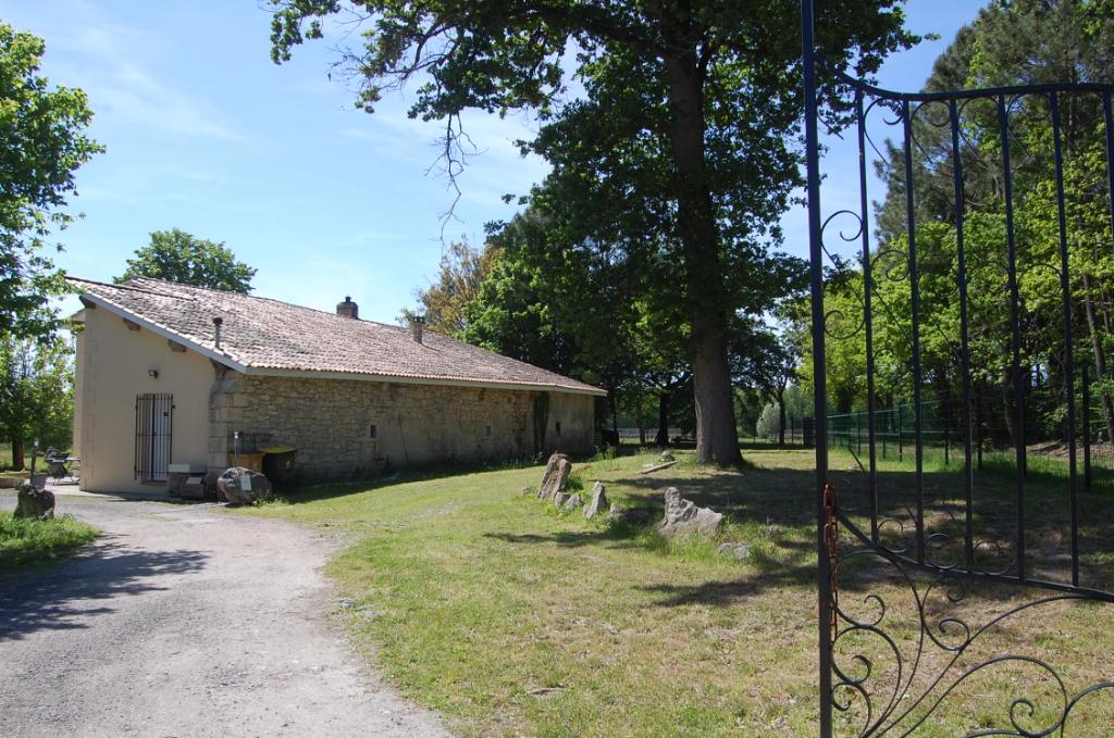 Maison de maître avec 2 hectares à st Savin (33920)