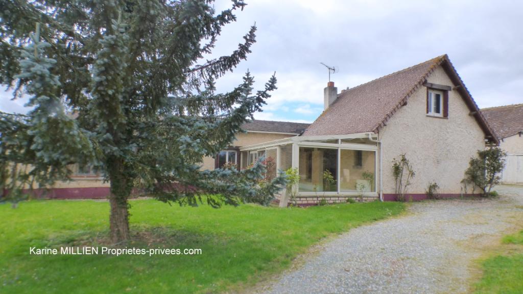 MUZY 27650 Maison familiale avec possibilité de 2 logements indépendants - Dépendance - Garage - Terrain