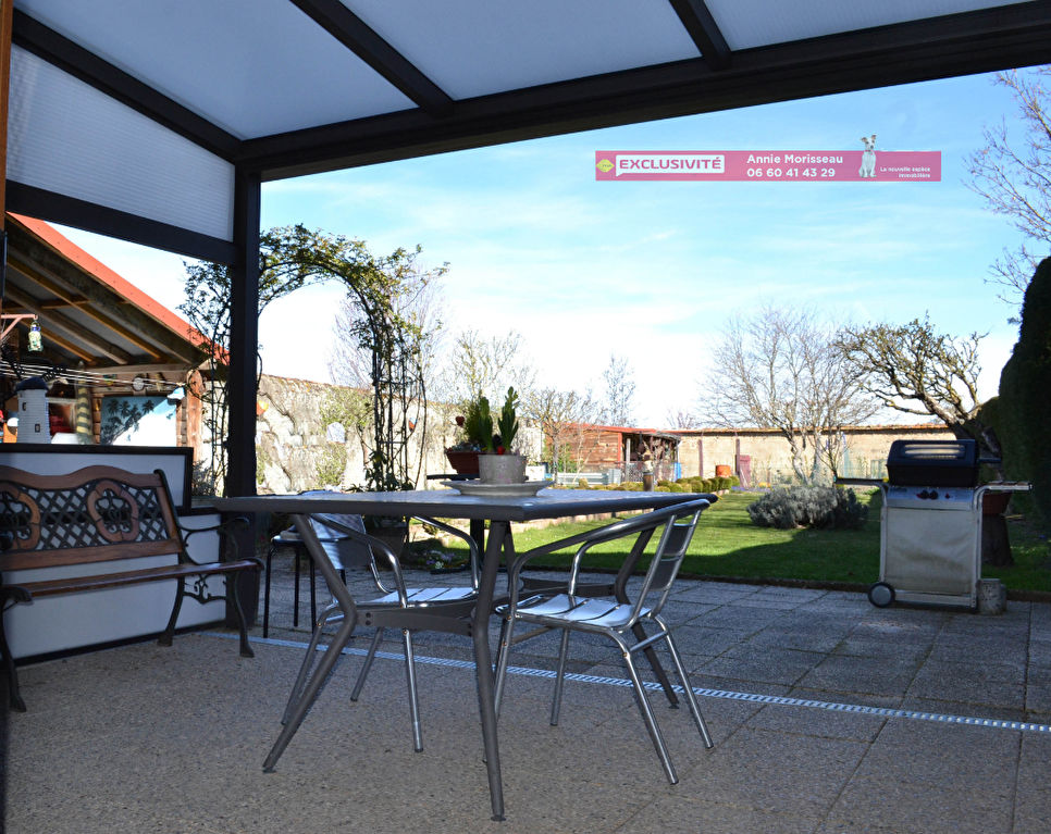 Maison de ville 165 m², avec jardin, garage et dépendances