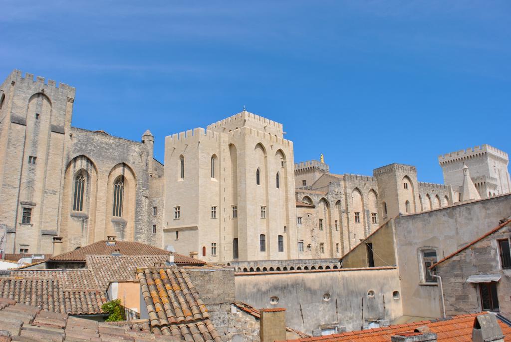 Appartement Avignon T2 Splendide vue Palais des Papes
