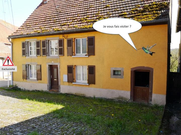 Maison à rénover de 90 m2 avec petit jardin d'environ 100m2