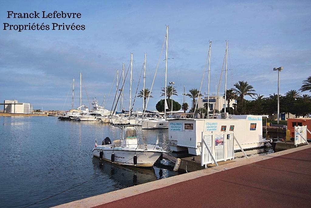 Studio Saint Cyprien plage de 28.50 m2 avec vue mer