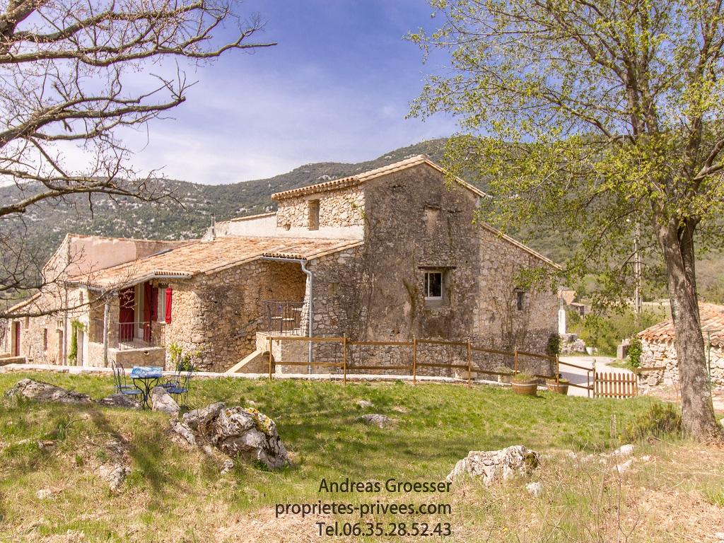 Magnifique maison en pierre de 120 m²