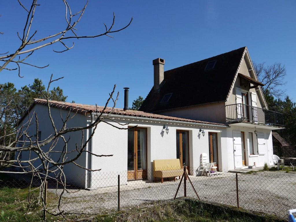 Maison proche de Cahors, sans voisin, sur 8 hectares