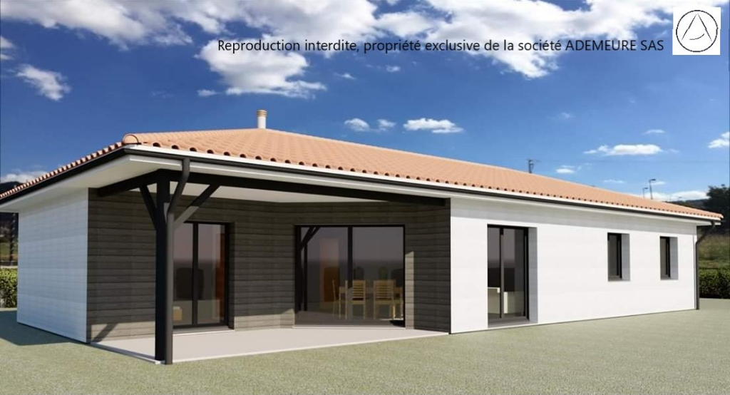 Maison Ossature bois Saint Jean D Angely 5 pièce(s) 100 m2
