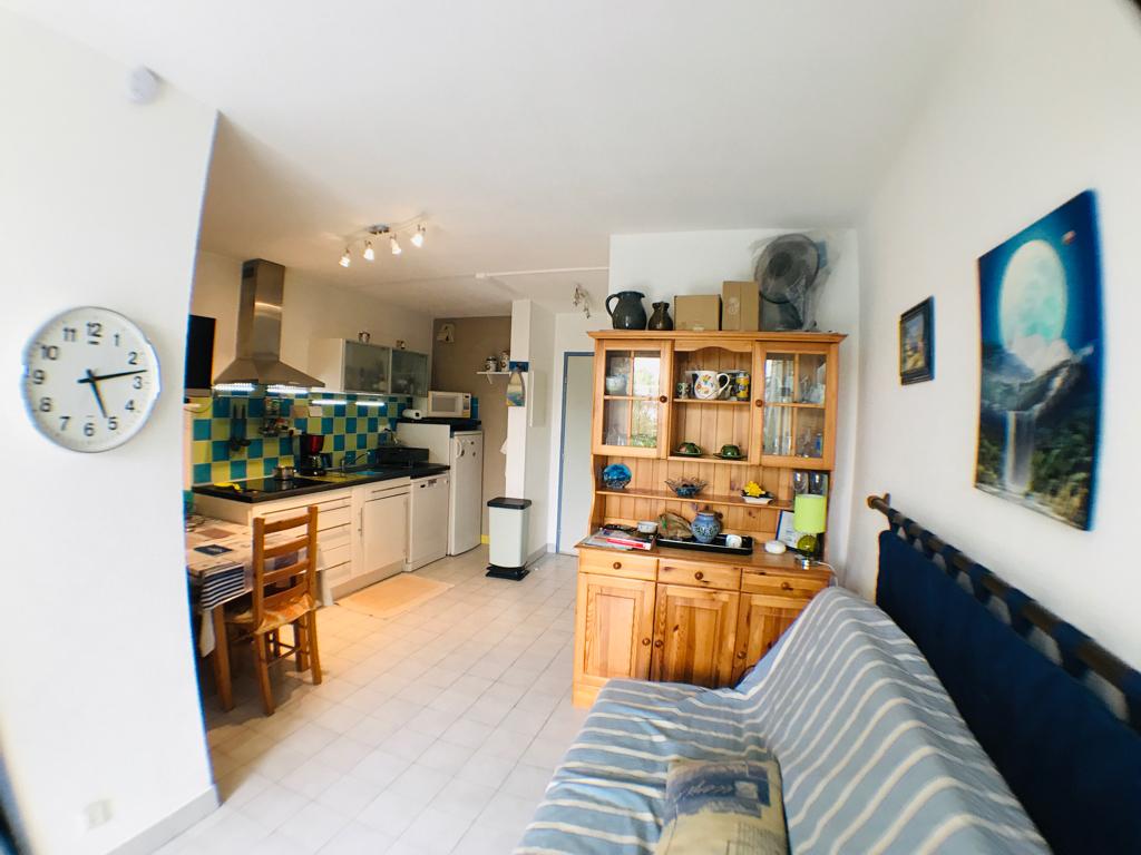 Studio cabine  La Grande Motte 1 pièce(s) 23 m2 Rez de jardin