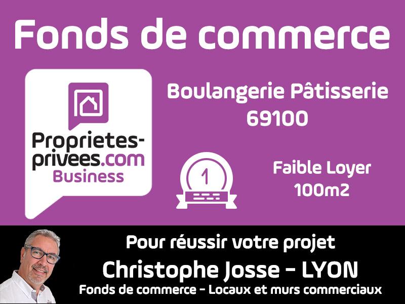 69100 Boulangerie Villeurbanne 106 m2