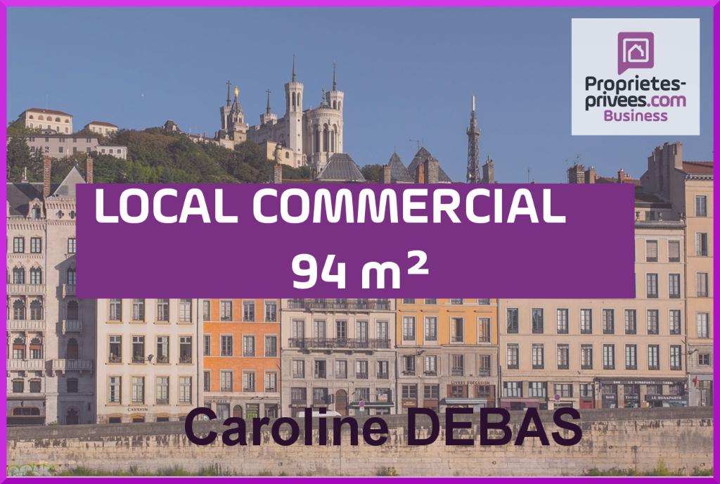 Fonds de commerce Pas de porte local,restauration rapide snack,sandwicherie Lyon 94 m2