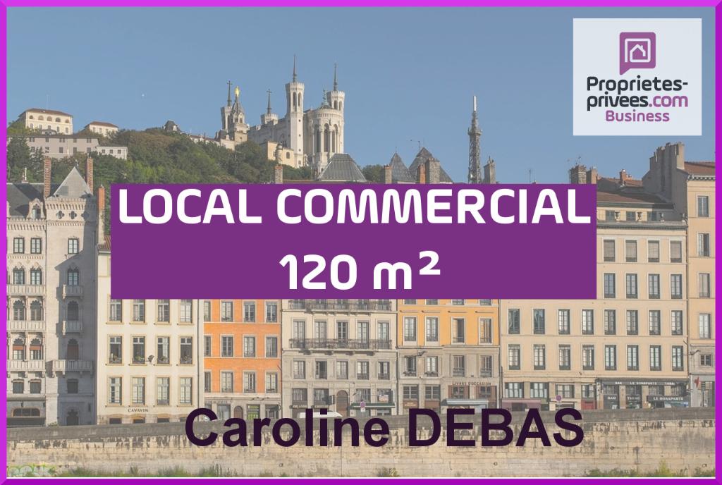 Fonds de commerce Coiffure Lyon 120 m2