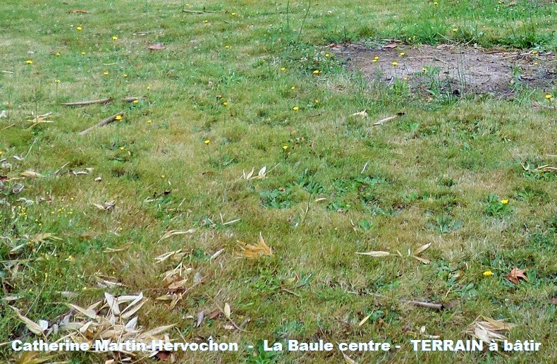 Terrain constructible Centre La Baule