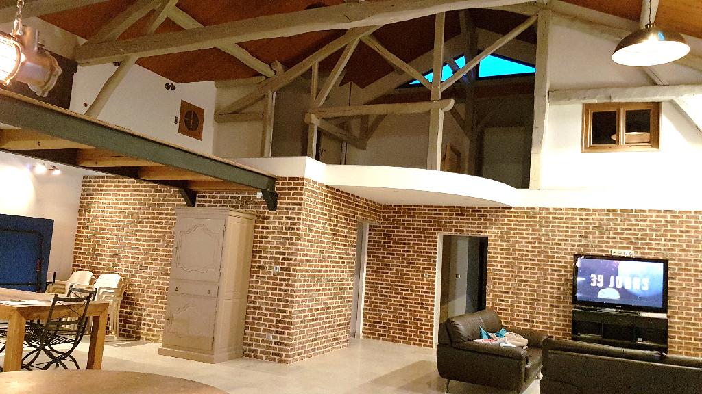 Maison de Caractère de 300 m² Entièrement Rénover et Remis au Goût et Style de Vie, avec 2 Terrasses, Garage double avec Portes motorisées et Terrain clos et arboré de 1700 m²