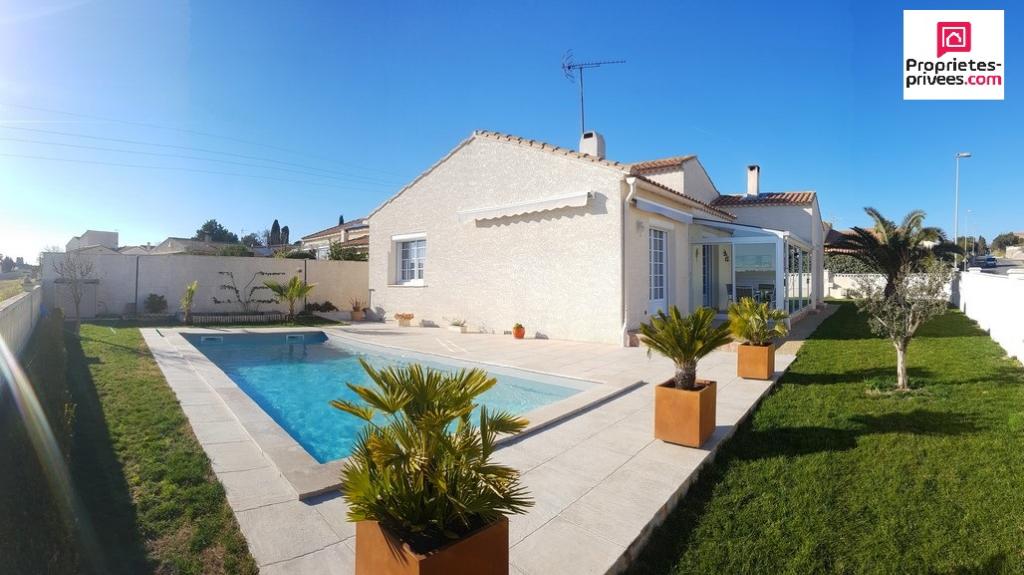 Belle villa 115m² piscine/Garage et vue degagée