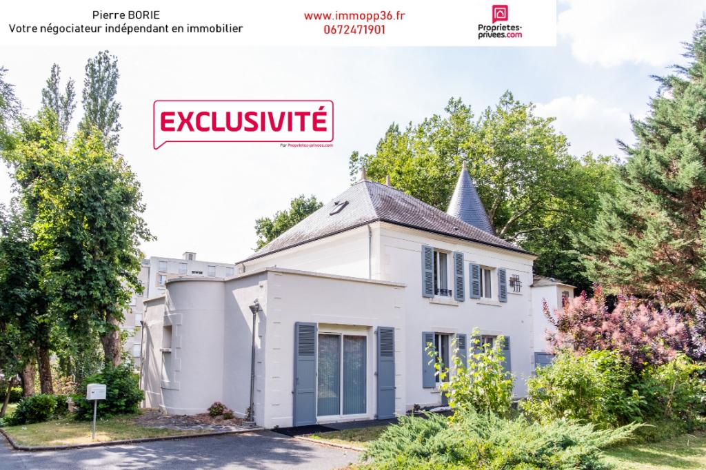 Demeure rénovée à Châteauroux, 6 pièces, vie de plain-pied possible