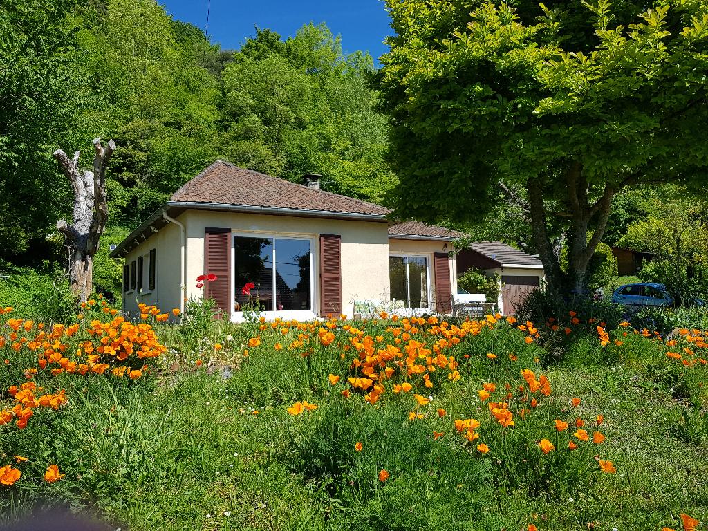 Les Andelys proche - Maison de 79 m2 avec vue sur Seine sur 920 m2 de terrain Prix 188.100