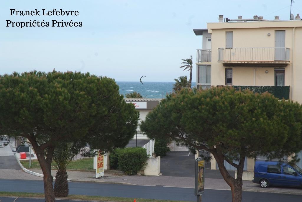 Saint Cyprien Plage Appartement 3 pièces  Duplex de 44m2  à 50 m des plages