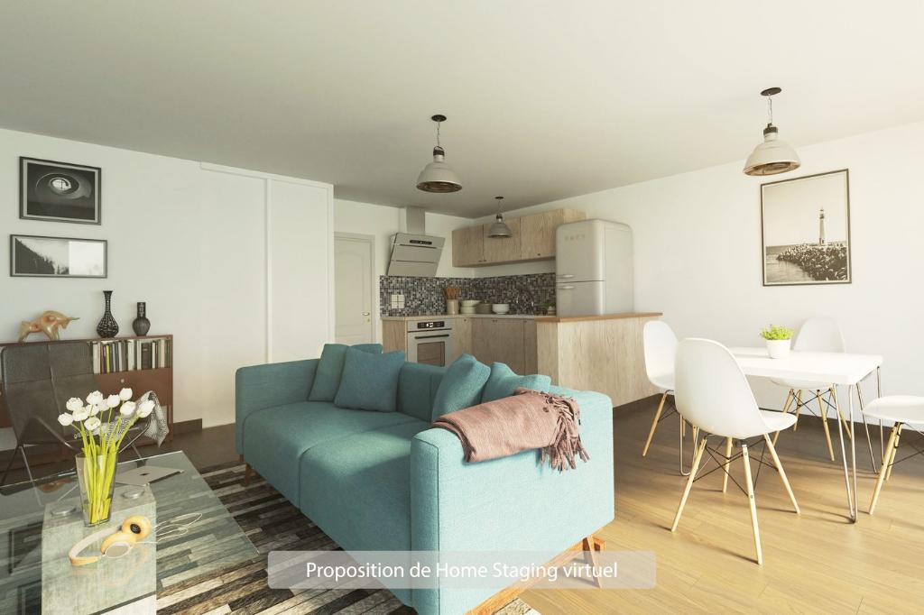 T2 Montagnole  51.19 m2 en rez de jardin