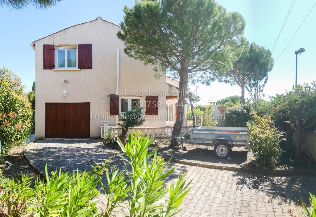 Villa T4 MEUBLEE  AVEC GARAGE SUR 512M² DE TERRAIN