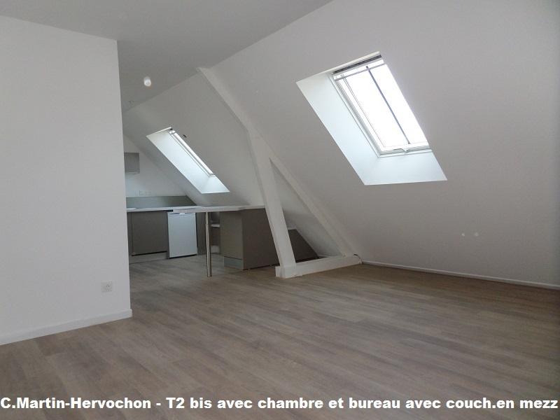 1 chambre et 1 bureau avec mezzanine - Grand garage