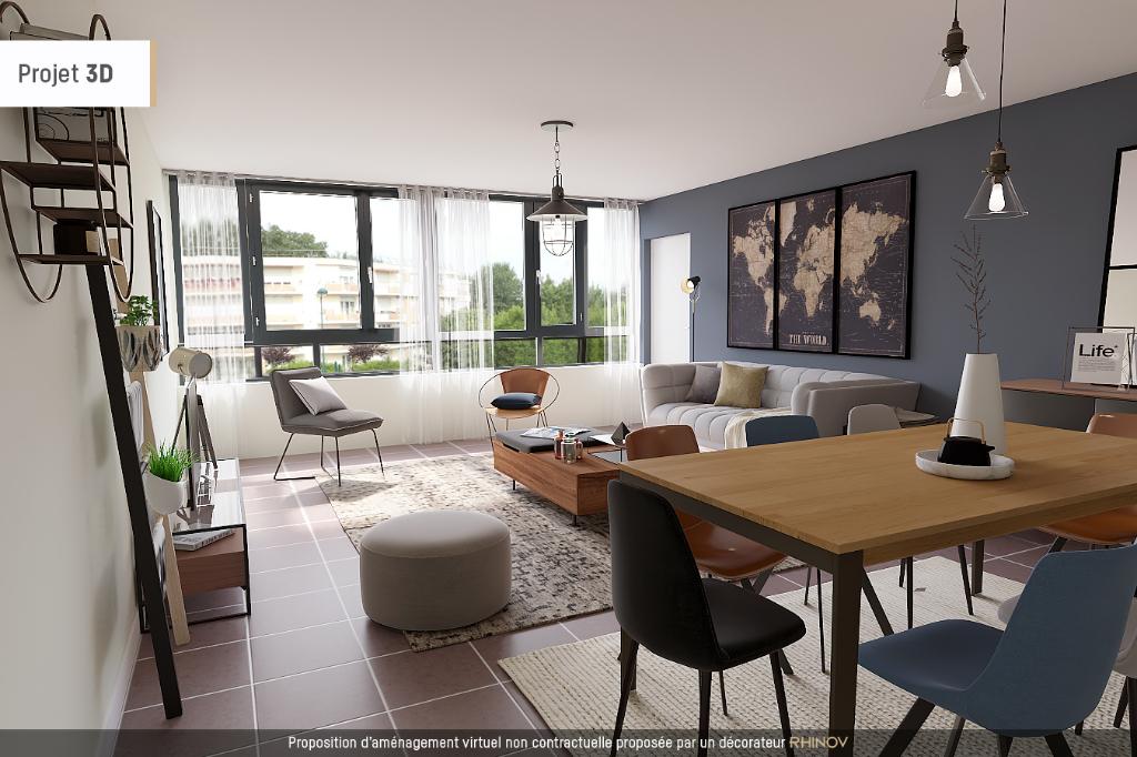 Appartement Montevrain 3 pièce(s) 72 m2