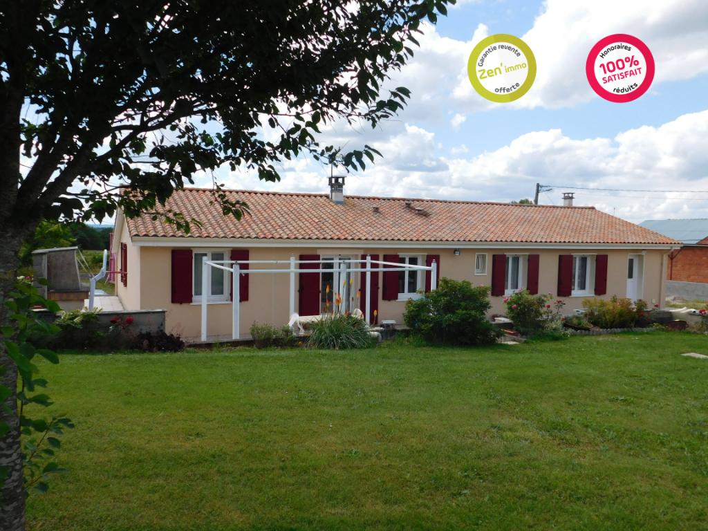 Maison à 5 minutes de La Rochefoucauld 4 pièce(s) 119 m2